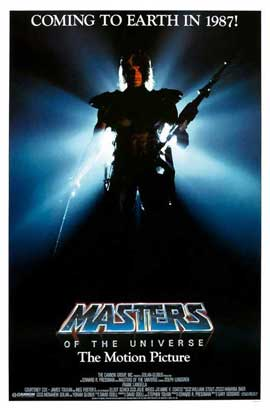 Masters of the Universe - 11 x 17 Movie Poster - Style E