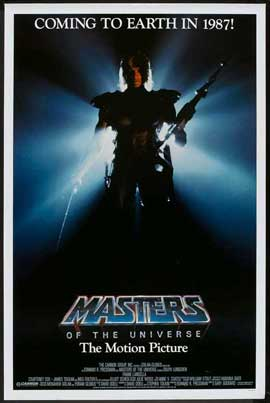 Masters of the Universe - 27 x 40 Movie Poster - Style B