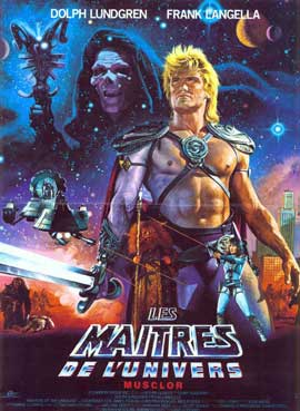 Masters of the Universe - 27 x 40 Movie Poster - French Style A