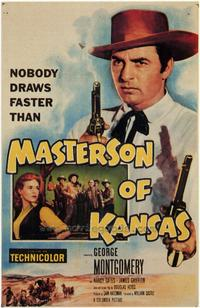 Masterson of Kansas - 43 x 62 Movie Poster - Bus Shelter Style A