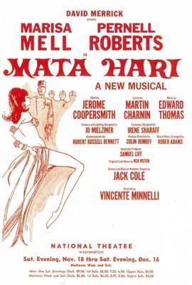 Mata Hari (Broadway) - 14 x 22 Poster - Style A