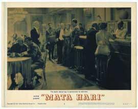 Mata Hari - 11 x 14 Movie Poster - Style A