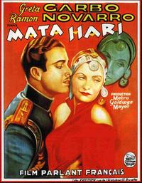 Mata Hari - 11 x 17 Movie Poster - French Style A