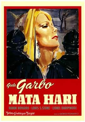 Mata Hari - 11 x 17 Movie Poster - Spanish Style A