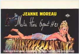 Mata Hari - 11 x 17 Movie Poster - Belgian Style A
