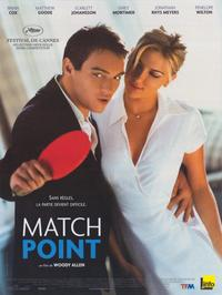Match Point - 30 x 40 Movie Poster - French Style A