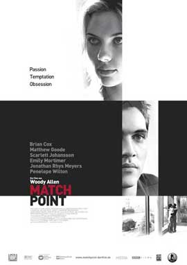 Match Point - 11 x 17 Movie Poster - German Style A