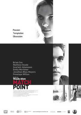 Match Point - 27 x 40 Movie Poster - German Style A