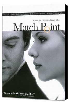 Match Point - 11 x 17 Movie Poster - Style B - Museum Wrapped Canvas