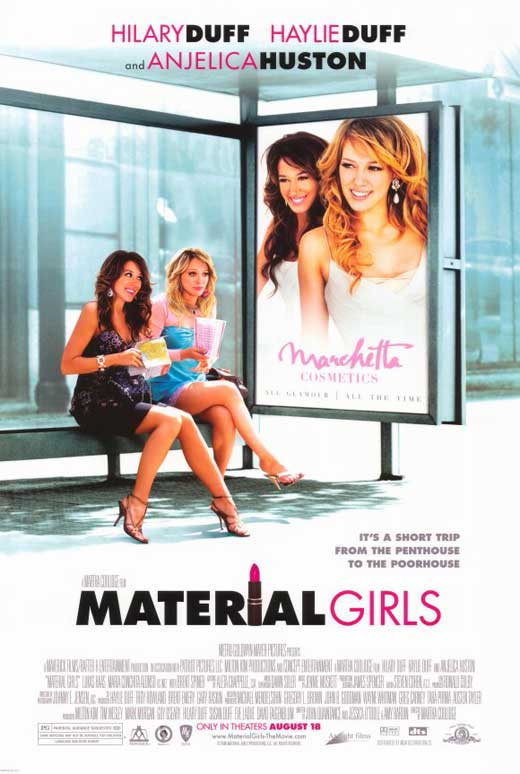 Girls Movie Posters Material Girls