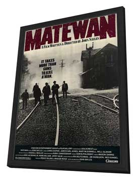 Matewan - 27 x 40 Movie Poster - Style A - in Deluxe Wood Frame