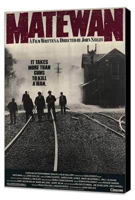 Matewan - 27 x 40 Movie Poster - Style A - Museum Wrapped Canvas