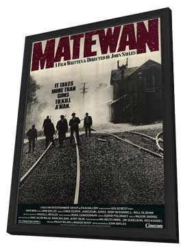 Matewan - 11 x 17 Movie Poster - Style A - in Deluxe Wood Frame