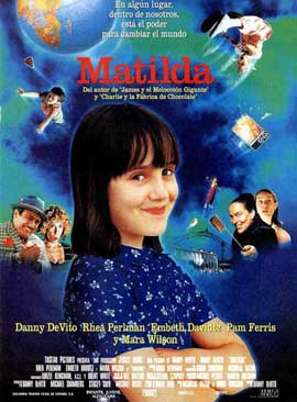 Matilda - 11 x 17 Movie Poster - Spanish Style A