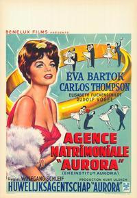 Matrimonial Agency Aurora - 27 x 40 Movie Poster - Belgian Style A