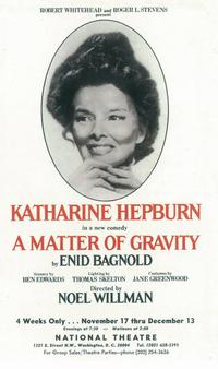 Matter of Gravity, A (Broadway) - 11 x 17 Poster - Style A