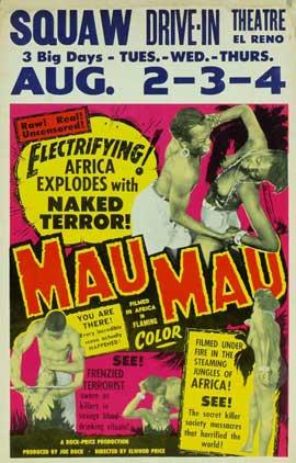 Mau-Mau - 11 x 17 Movie Poster - Style B