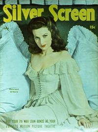Maureen O'Hara - 27 x 40 Movie Poster - Silver Screen Magazine Cover 1940's Style A