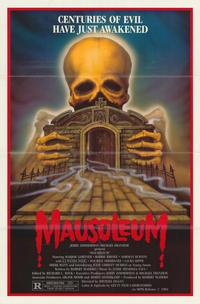 Mausoleum - 43 x 62 Movie Poster - Bus Shelter Style A