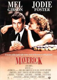 Maverick - 11 x 17 Movie Poster - German Style A