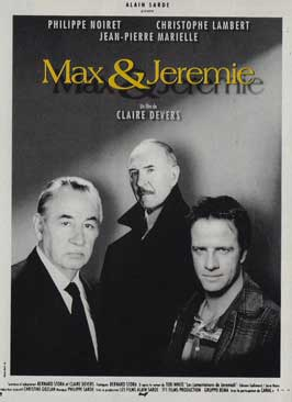 Max & Jeremie - 11 x 17 Movie Poster - French Style A
