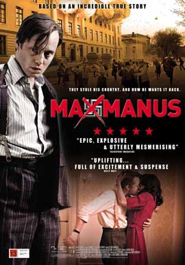 Max Manus - 27 x 40 Movie Poster - UK Style C