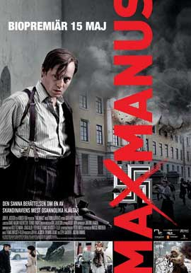 Max Manus - 27 x 40 Movie Poster - Swedish Style A