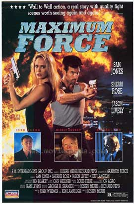 Maximum Force - 11 x 17 Movie Poster - Style A