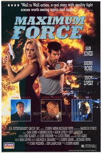 Maximum Force - 27 x 40 Movie Poster - Style A