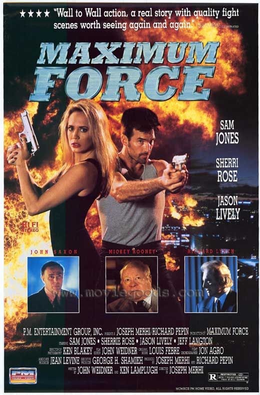 Maximum Force affiche