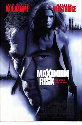 Maximum Risk - 11 x 17 Movie Poster - Style B