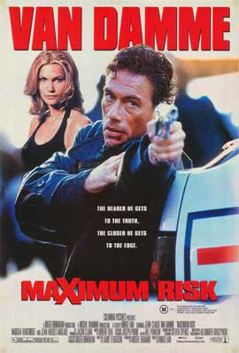Maximum Risk - 27 x 40 Movie Poster - Australian Style A