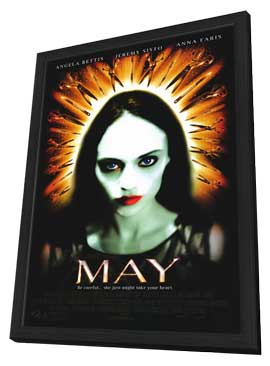 May - 11 x 17 Movie Poster - Style A - in Deluxe Wood Frame