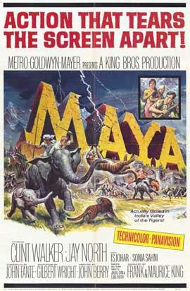 Maya - 11 x 17 Movie Poster - Style A