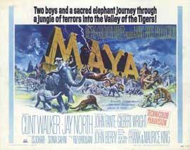 Maya - 11 x 14 Movie Poster - Style B