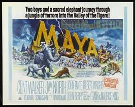 Maya - 22 x 28 Movie Poster - Half Sheet Style A