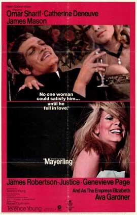 Mayerling - 11 x 17 Movie Poster - Style A