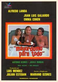 Mayordomo para todo - 11 x 17 Movie Poster - Spanish Style A