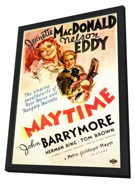 Maytime - 11 x 17 Movie Poster - Style B - in Deluxe Wood Frame