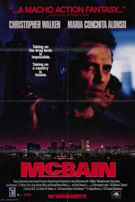 McBain - 11 x 17 Movie Poster - Style A