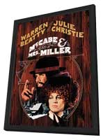 McCabe & Mrs. Miller - 11 x 17 Movie Poster - Style C - in Deluxe Wood Frame