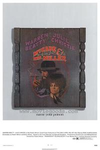 McCabe & Mrs. Miller - 43 x 62 Movie Poster - Bus Shelter Style A