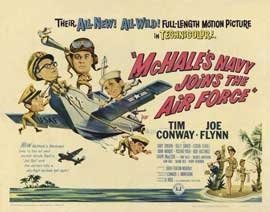 McHale's Navy Joins the Air Force - 11 x 14 Movie Poster - Style C