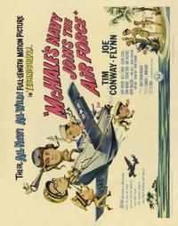 McHale's Navy Joins the Air Force - 22 x 28 Movie Poster - Half Sheet Style A