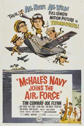 McHale's Navy Joins the Air Force - 11 x 17 Movie Poster - Style A