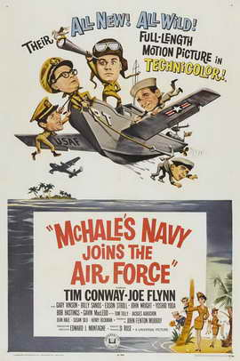 McHale's Navy Joins the Air Force - 27 x 40 Movie Poster - Style B