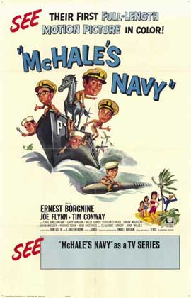 McHale's Navy - 11 x 17 Movie Poster - Style A