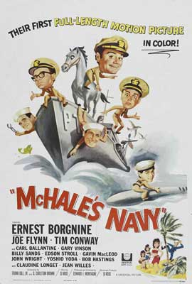 McHale's Navy - 27 x 40 Movie Poster - Style B