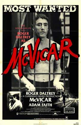 McVicar - 11 x 17 Movie Poster - Style A
