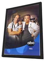 MDs - 11 x 17 TV Poster - Style A - in Deluxe Wood Frame